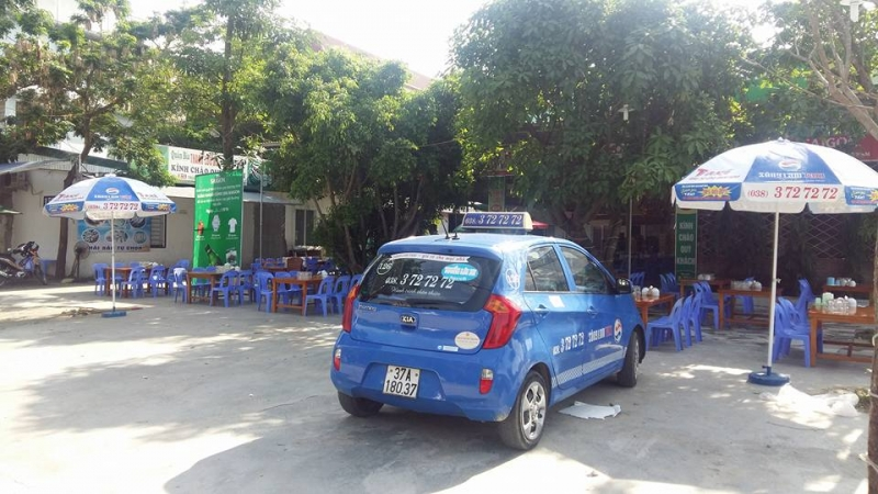 Taxi Sông Lam tại Vinh