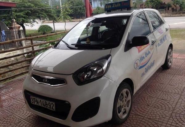 Taxi Vạn Xuân 4 chỗ tại Vinh
