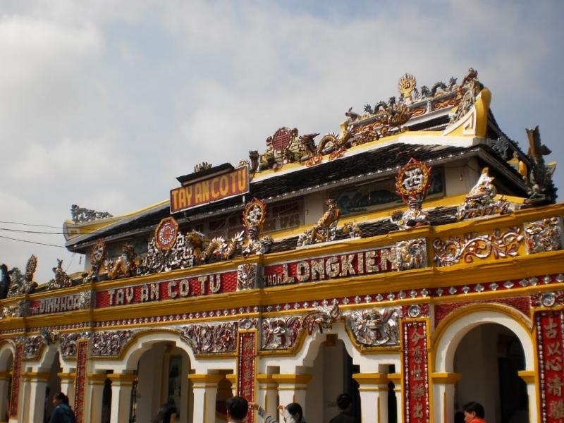 Tây An Cổ Tự là sự giao thoa độc đáo nền văn hóa Việt Nam - Ấn Độ