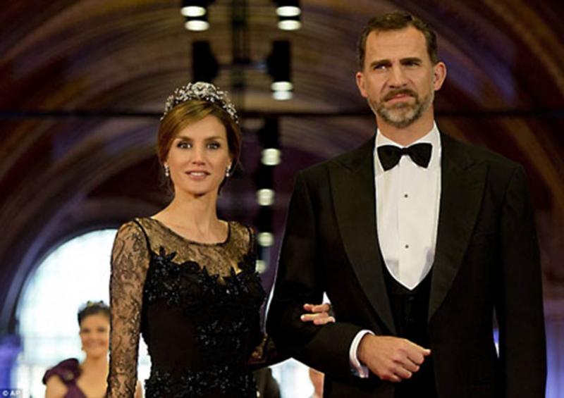 Đức vua Felipe và Hoàng hậu Letizia