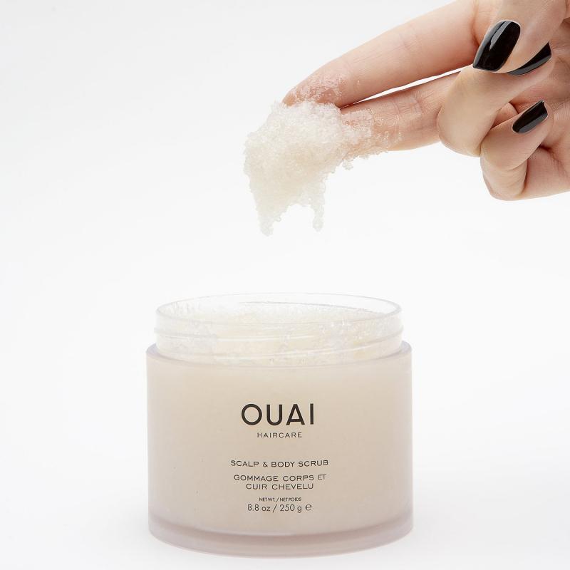 Tẩy da chết cho tóc OUAI Scalp & Body Scrub