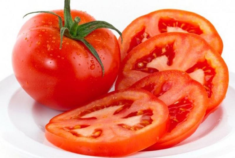 Cà chua thái lát