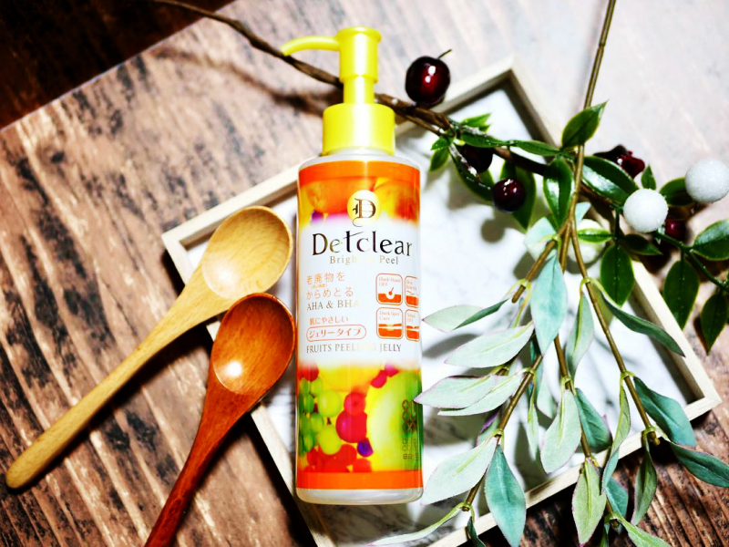 Tẩy tế bào chết Detclear Bright & Peel Peeling Jelly – Mixed Fruit