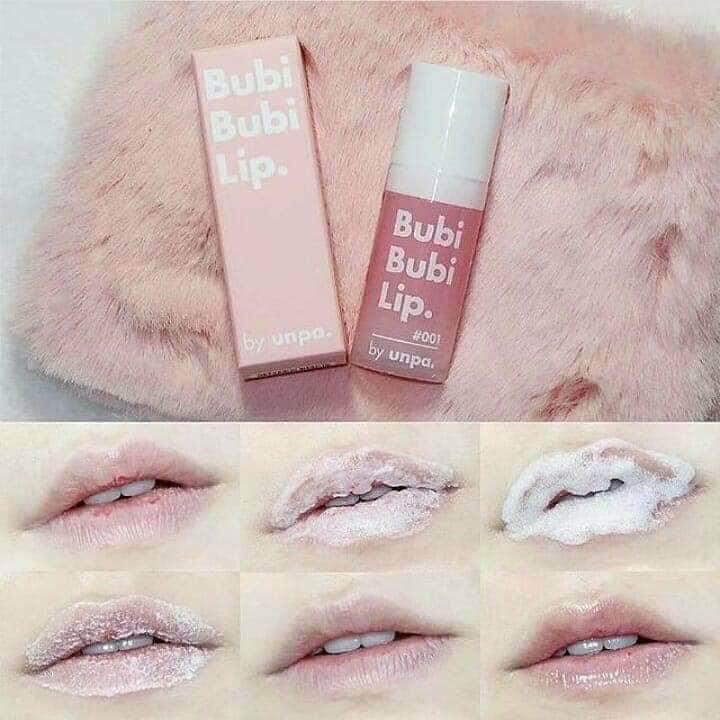 Tẩy tế bào chết môi Bubi Bubi Lip