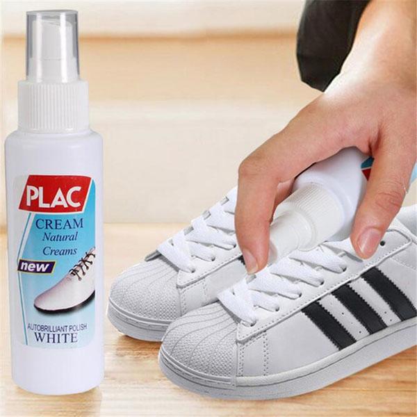 Tẩy trắng giày sau một thời gian