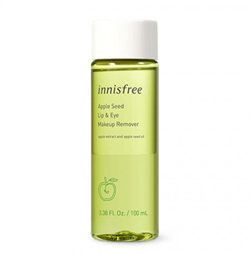 Tẩy trang mắt môi táo xanh của Hàn Quốc Innisfree Apple Seed Lip & Eye Remover