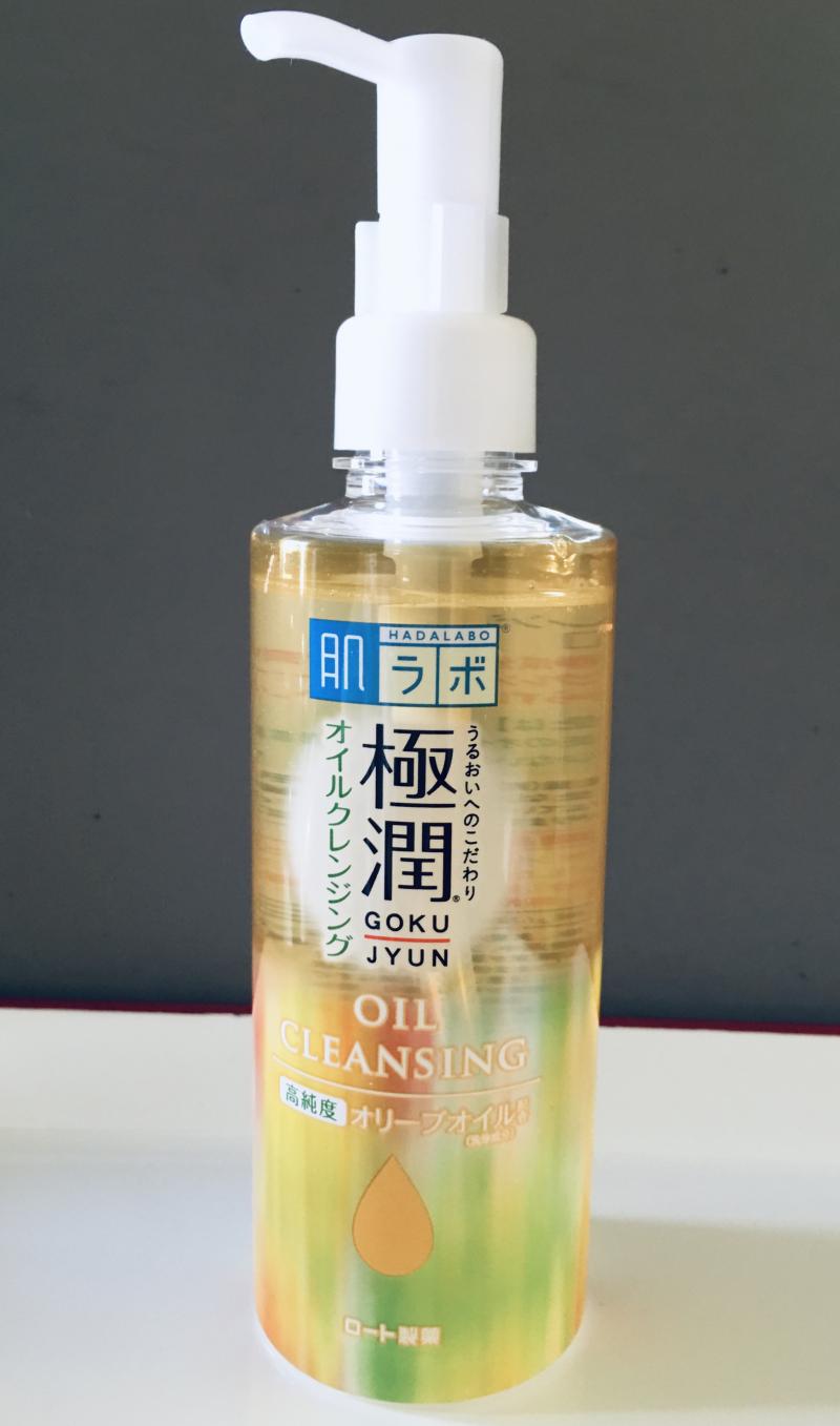 Tẩy trang Rohto Hada Labo Gokujyun Cleansing Oil