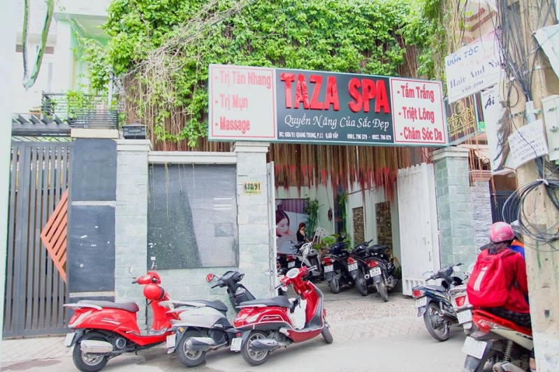 Taza Spa - địa chỉ làm đẹp hàng đầu tại quận Gò Vấp