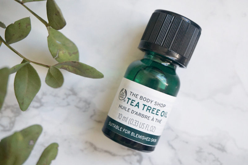 Tinh dầu tràm trà Tea Tree Oil The Body Shop