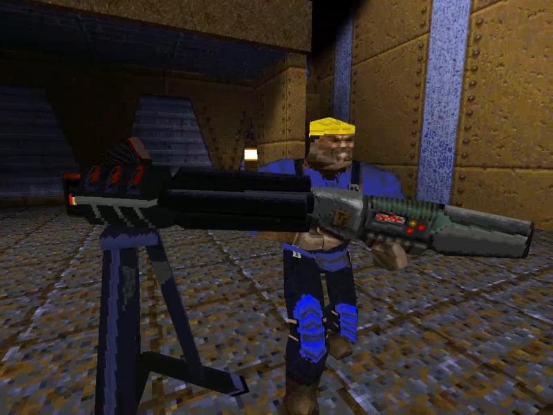 Team Fortress - mod game Quake