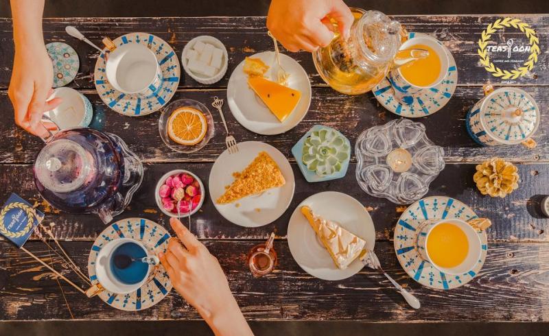 Teaspoon - Trà chiều cho cuộc hẹn lãng mạn