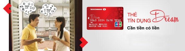 Thẻ tín dụng của Techcombank có hạn mức
