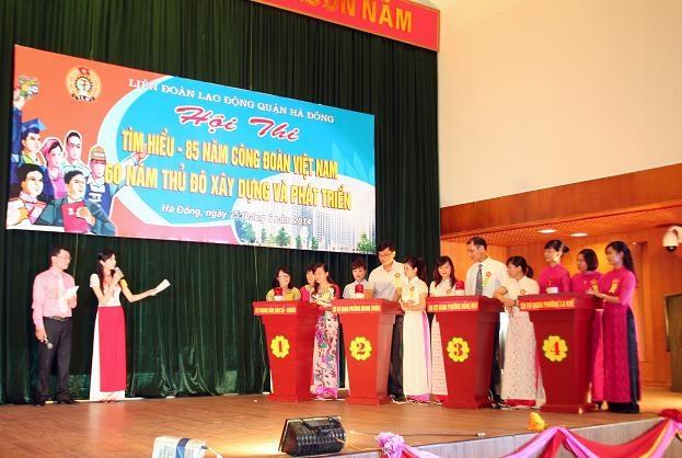 Hội thi tìm hiểu về ngày Công Đoàn Việt Nam