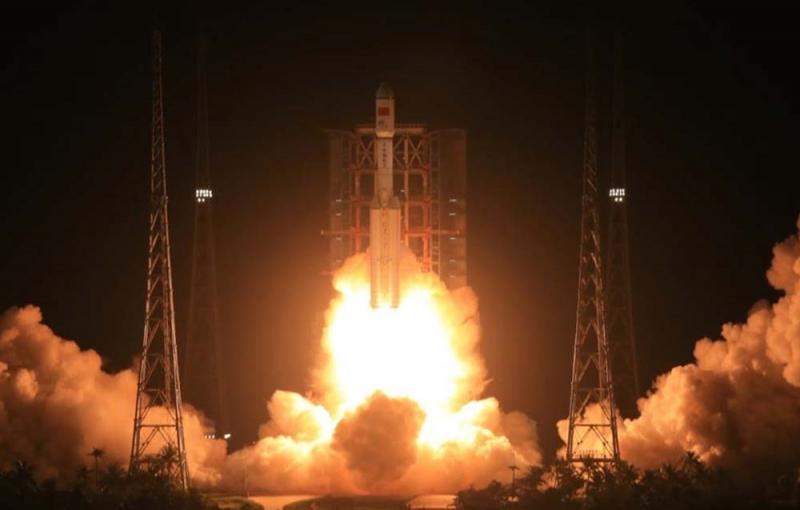 Tên lửa chống vệ tinh SC-19.