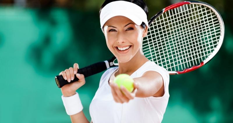 Tennis là một môn thể thao giúp bạn giảm cân