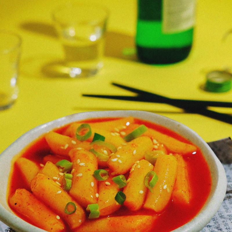 Đồ ăn tại Tèobokki mang đậm hương vị Hàn Quốc