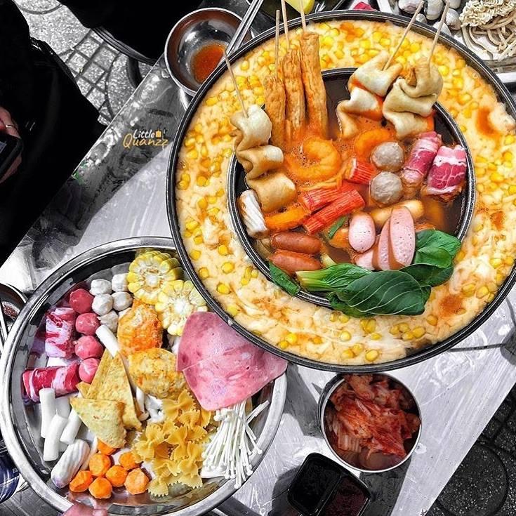 Set buffet tokbokki