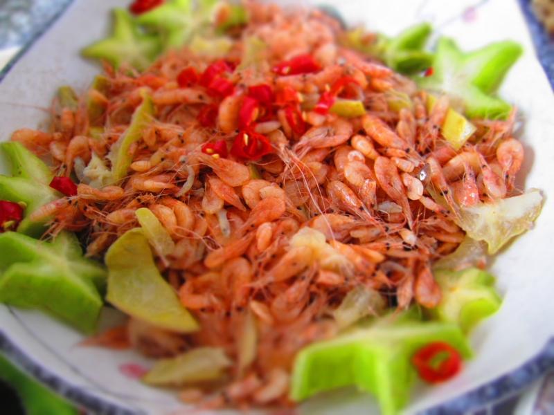 Tép Dầu Đầm Vạc (Vĩnh Yên)