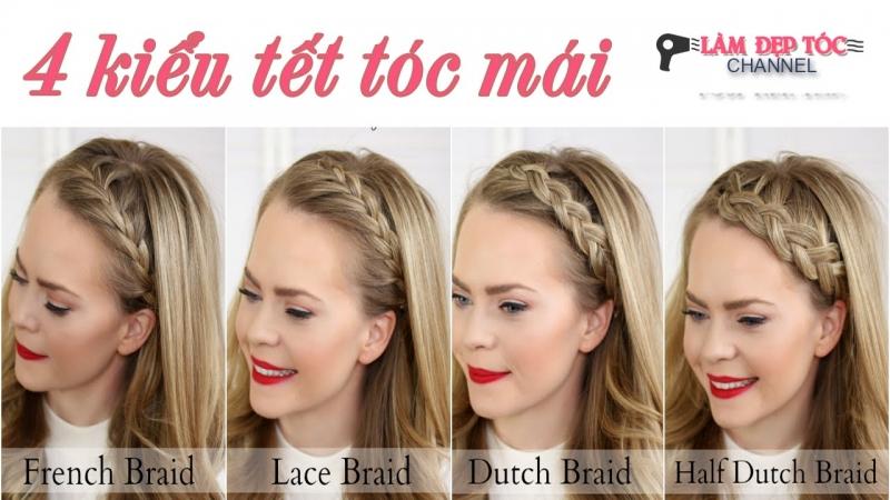 Các kiểu tóc mái thông dụng