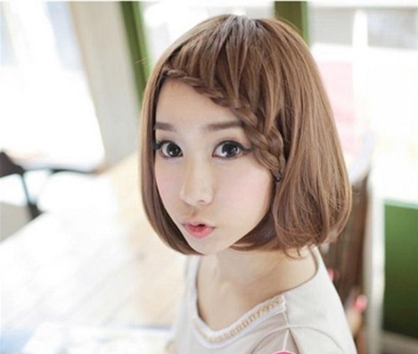 Tóc mái trẻ trung