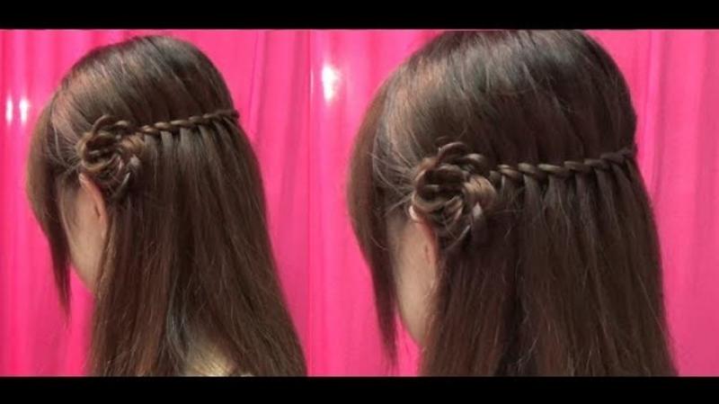 Biến tấu với kiểu tóc thác nước