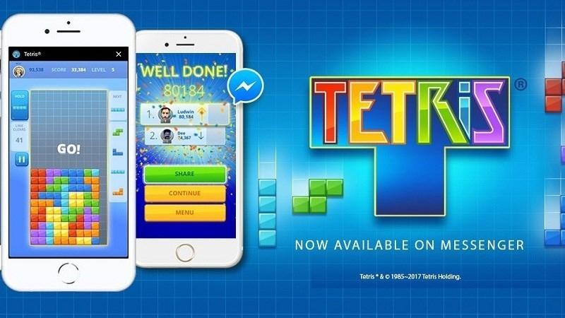 Tetris - Phiên bản trò chơi xếp hình trên điện thoại thông minh