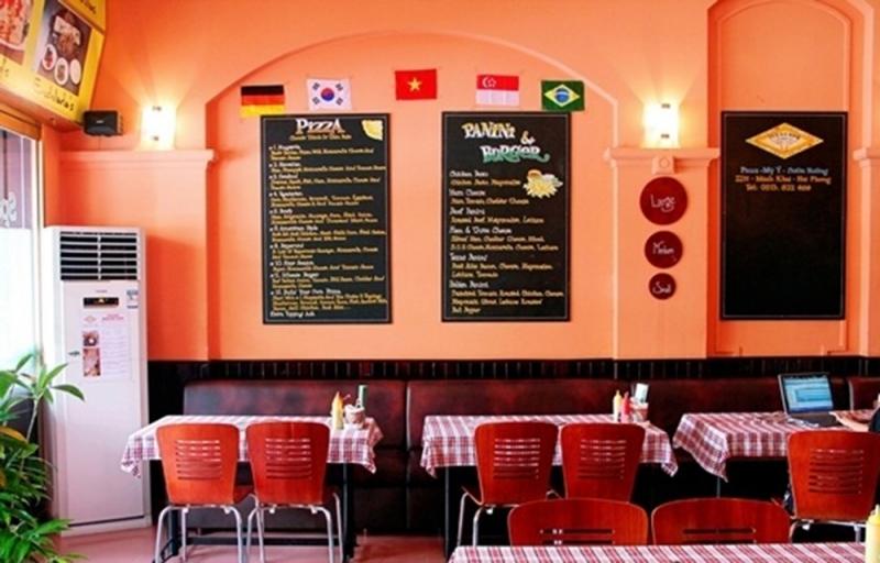 Không gian nhẹ nhàng, tinh tế của nhà hàng