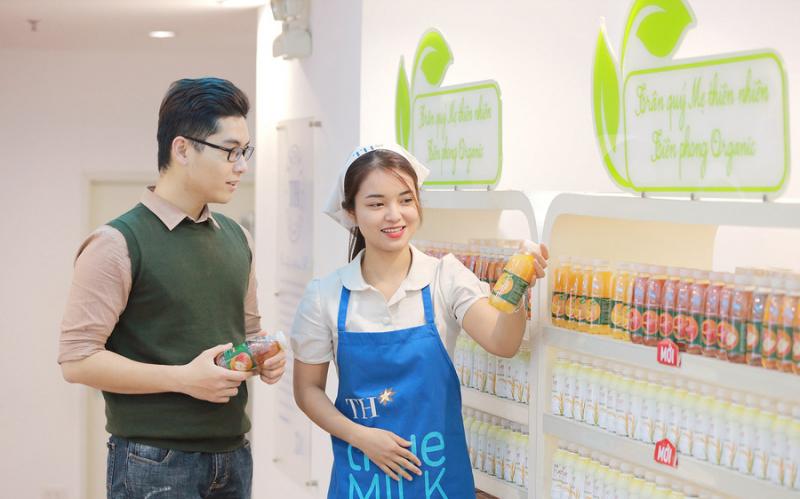 TH Milk lọt top 6 nơi làm việc tốt nhất Việt Nam