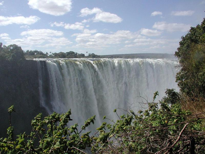 Thác nước Vicoria, Zimbabwe