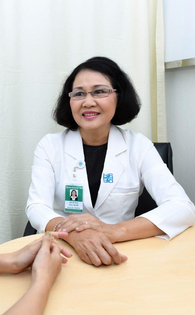 Thạc sĩ, Bác sĩ chuyên khoa II Đặng Thị Tốn
