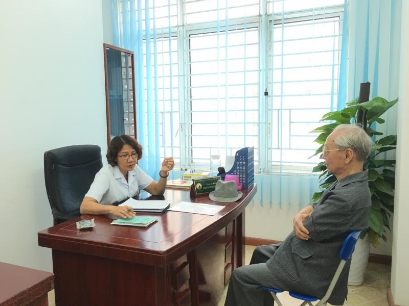 Thạc sĩ - bác sĩ Nguyễn Thị Tuyết Lan