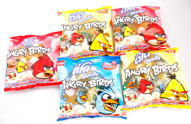Thạch Angry Birds 3 trong 1