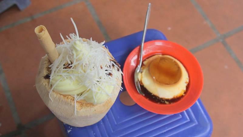Thạch Dừa Xiêm & Kem Trái Dừa