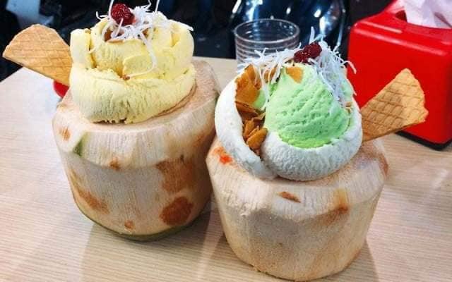 Thạch Dừa Đồng Tháp - Kem Trái Dừa