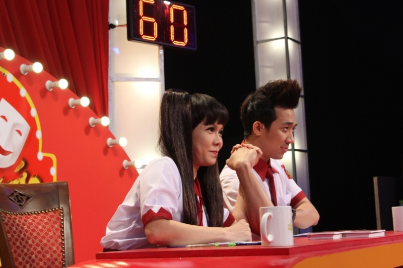 Bộ đôi giám khảo mùa 1,2 Việt Hương-Trấn Thành