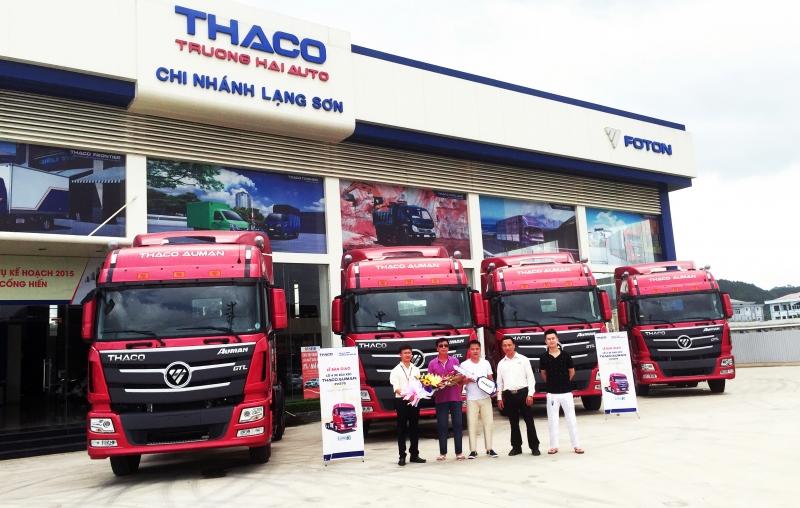 Nhà máy sản xuất của THACO