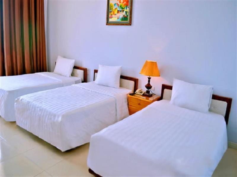 Phòng nghỉ khách sạn được thiết kế như không gian nhà ở thân thuộc của người dân Việt Nam