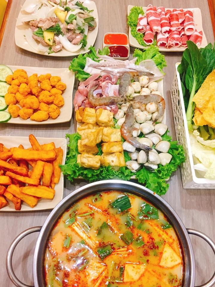 Combo Lẩu Thái tomyum đủ cho 4 người ăn