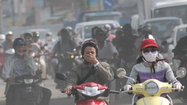 Sự ô nhiễm đường phố khiến phổi bị nhiễm độc