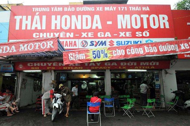 Thái Honda là một thương hiệu uy tín hoạt động trong lĩnh vực sửa chữa xe máy chuyên nghiệp cho tất cả các loại xe tay ga và xe số