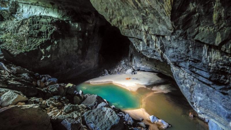 1 góc đẹp lung linh ở hang Phượng Hoàng - Thái Nguyên