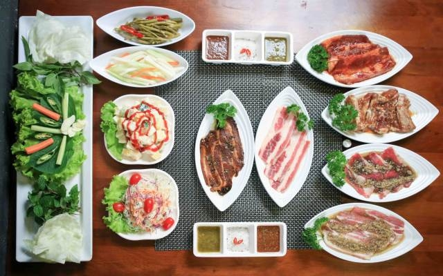 Buffet Thái tại Thái Pattaya - BBQ & Hotpot