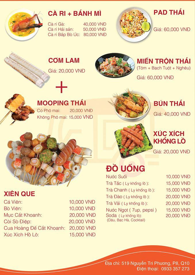 Mức giá dễ chịu phù hợp với chất lượng món ăn