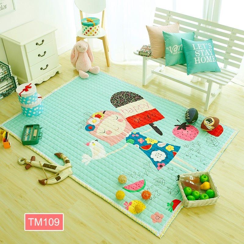 Vô cùng dễ thương cho các bé tha hồ chơi đùa thậm chí là có thể ngủ trên thảm luôn.
