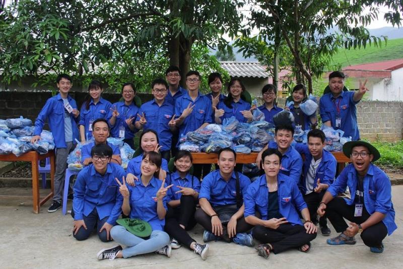 Ở đâu có các chương trình thiện nguyện, ở đâu cần có sức trẻ thanh niên là ở đó có màu áo của sinh viên Kiểm sát.