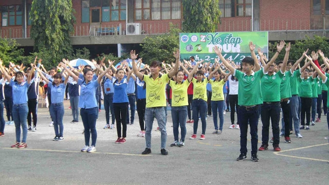 Lễ phát động chương trình tình nguyện của Clb Kỹ năng Spkt