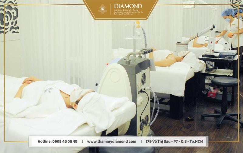 Bệnh nhân điều trị tại Diamond