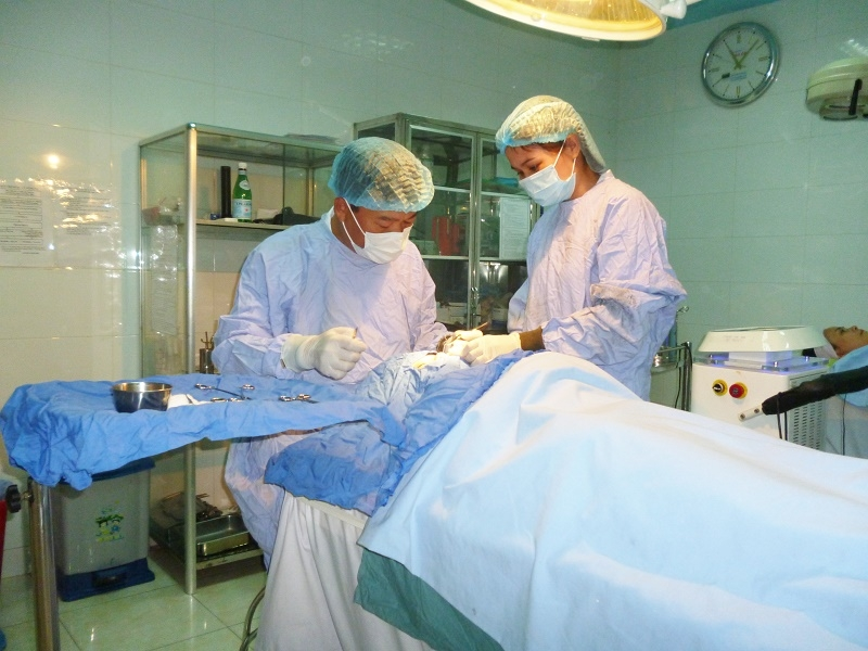 Phẫu thuật thẩm mỹ tại Thẩm Mỹ viện Bảo Ân