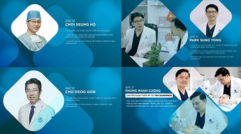 TMV Gangwhoo – Nơi hội tụ những bác sĩ giỏi nâng mũi cấu trúc tại Sài Gòn.