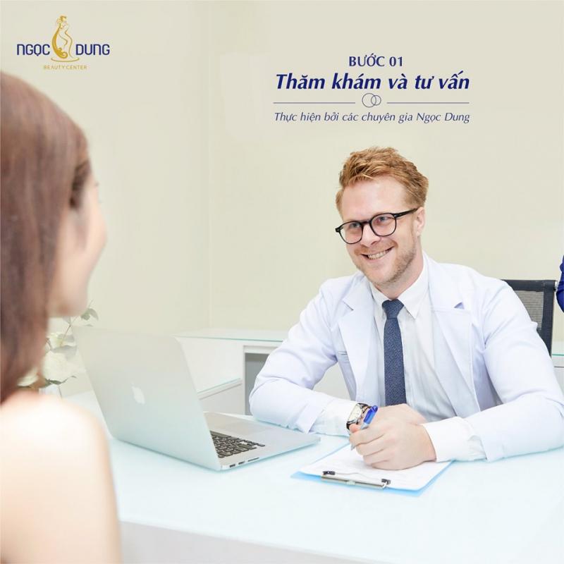 Thăm khám và tư vấn cho khách hàng